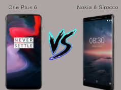 OnePlus 6 Vs Nokia 8 Sirocco