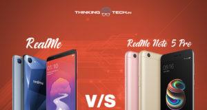 Realme vs Redmi note 5 pro