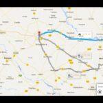 Google Maps Shortest Route