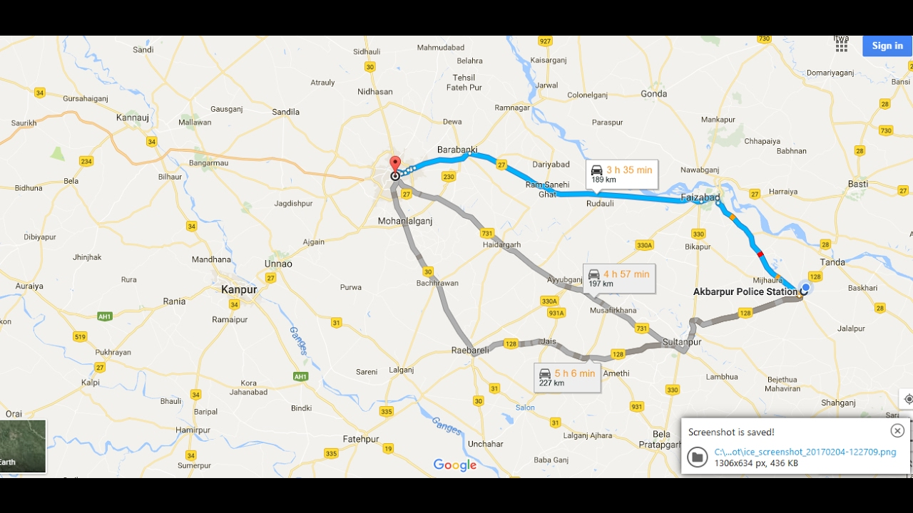 Google Maps Shortest Route Between Two Points | ThinkingTech on