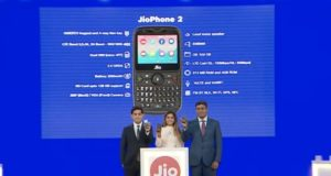 Jio Phone 2 With QWERTY Keypad