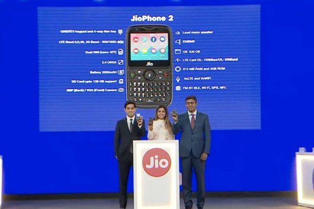 Jio Phone 2 With QWERTY Keypad