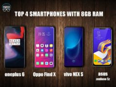 Smartphones With 8 GB Of RAM