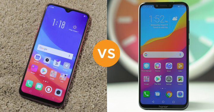 Oppo F9 Pro vs Honor Play Comparison | You Should Know