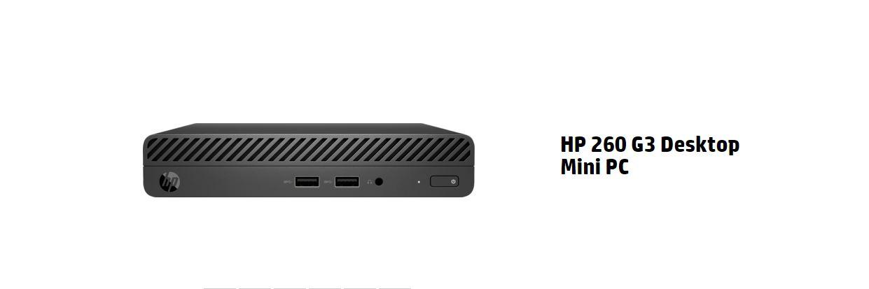 HP 260 G3 Mini Desktop