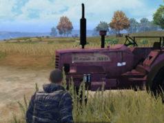 PUBG Mahindra tractor