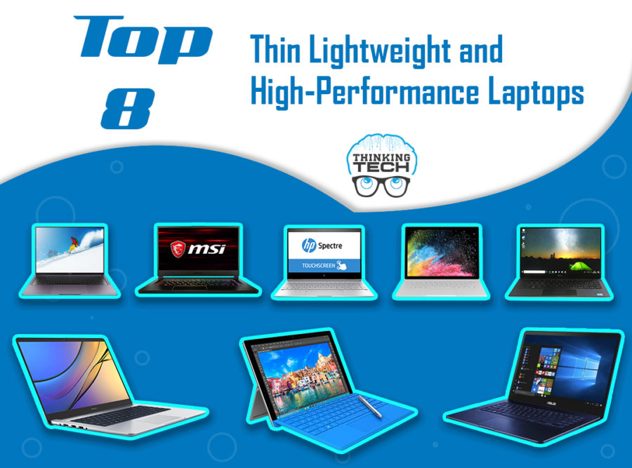 Lightweight and High-Performance Laptops