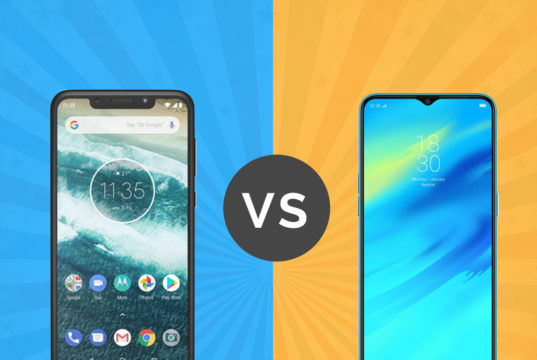 Motorola one Power vs Realme 2 Pro
