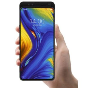 The camera slider of the Mi MIX 3