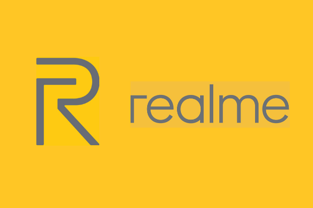 Realme Yellow Logo Yellow