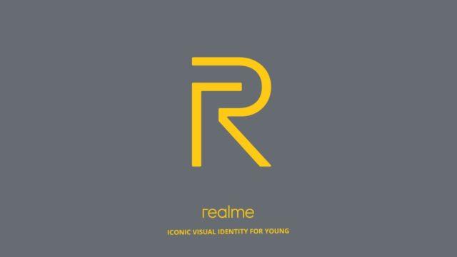 Realme Yellow Logo