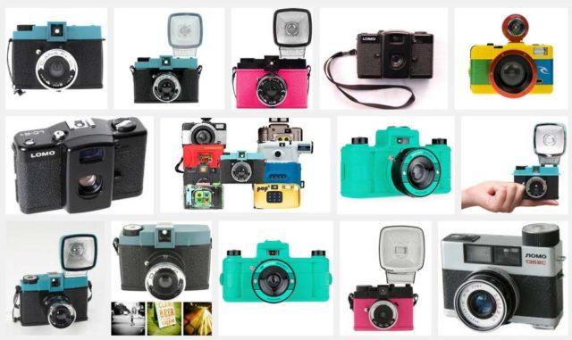 Lomography cameras