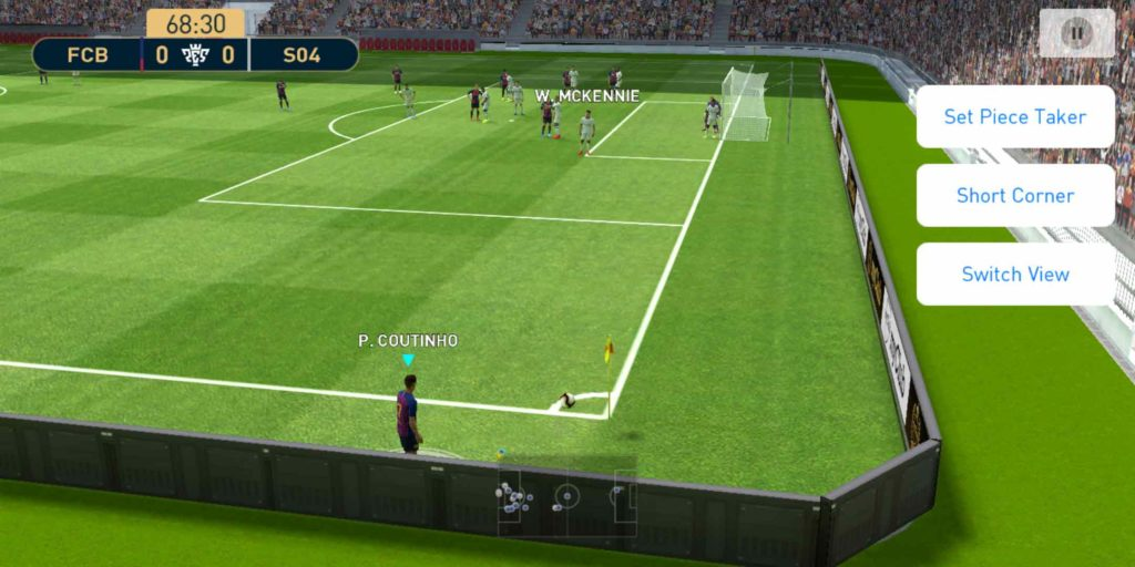 PES 2019 Mobile Graphics