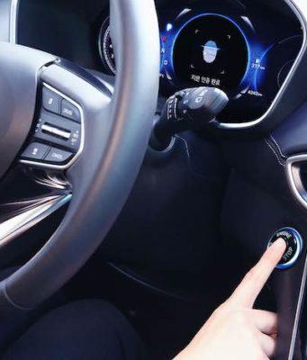 Hyundai fingerprint technology