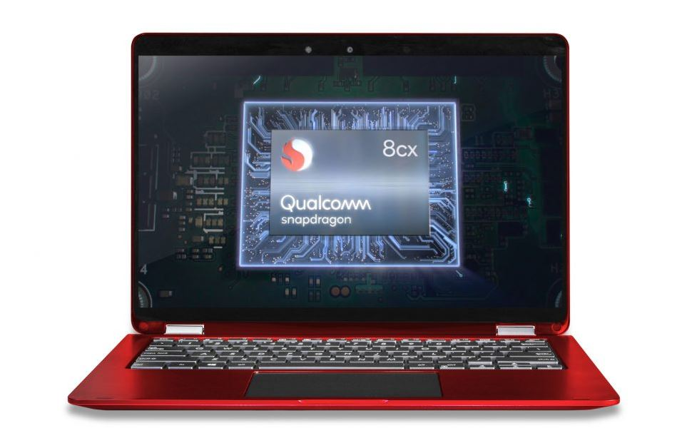 Qualcomm Snapdragon 8cx processor for windows 10