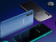 Samsung Galaxy A8s display and design