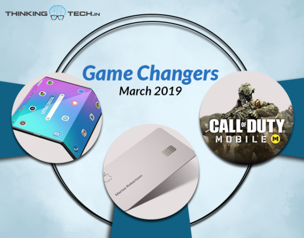 Game changers of the month