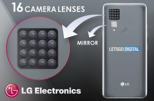 Smartphone with 16 cameras