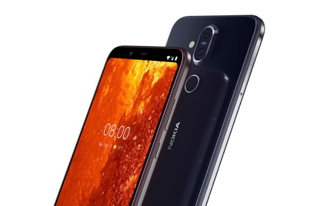 Nokia 8.1 features