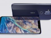 Nokia 8.1 Design and display