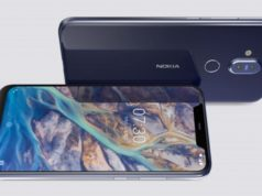 Nokia 8.1 Design and display