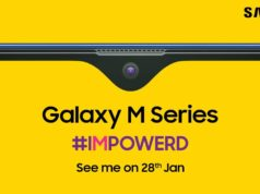 Samsung Galaxy M series in india