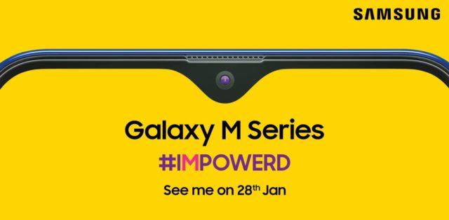 Samsung Galaxy M series in india