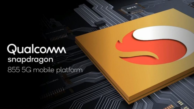 Snapdragon 855 Processor with 5G connectivity