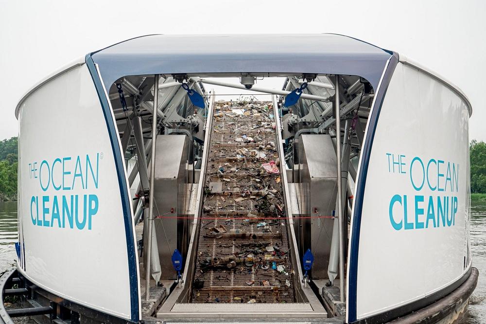 The Ocean Cleanup conveyor belt thinkingtech