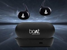 boAt true wireless earbuds