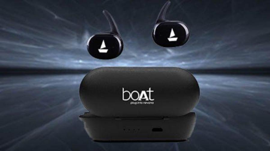 boAt true wireless earbuds