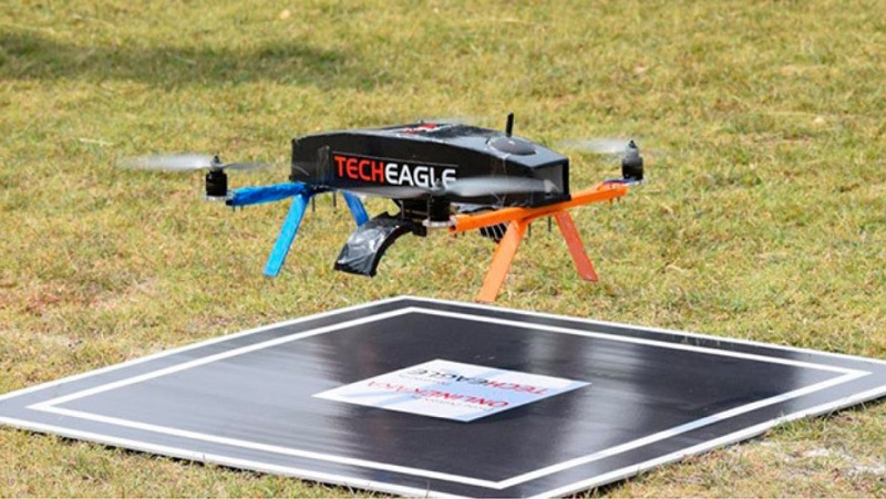 Zomato drone for food delivery