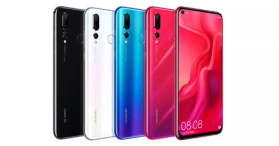 Huawei Nova 4 Color variants