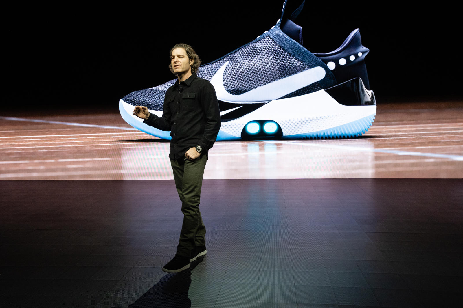 f913af2252 Nike Rolls Out Self-Lacing Shoe Which Can Be Controlled With An App