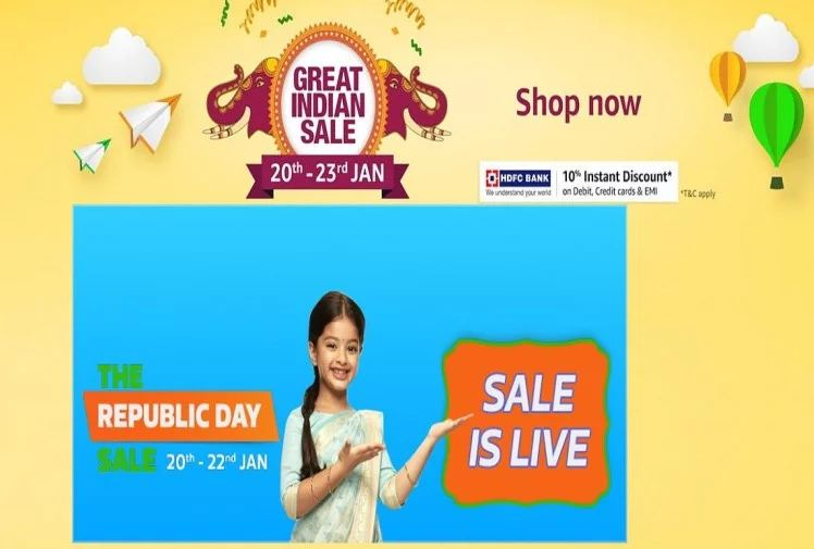 republic day sale on Amazon