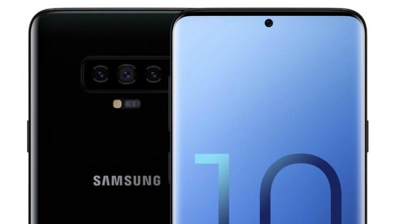 Samsung Galaxy S10 display Camera