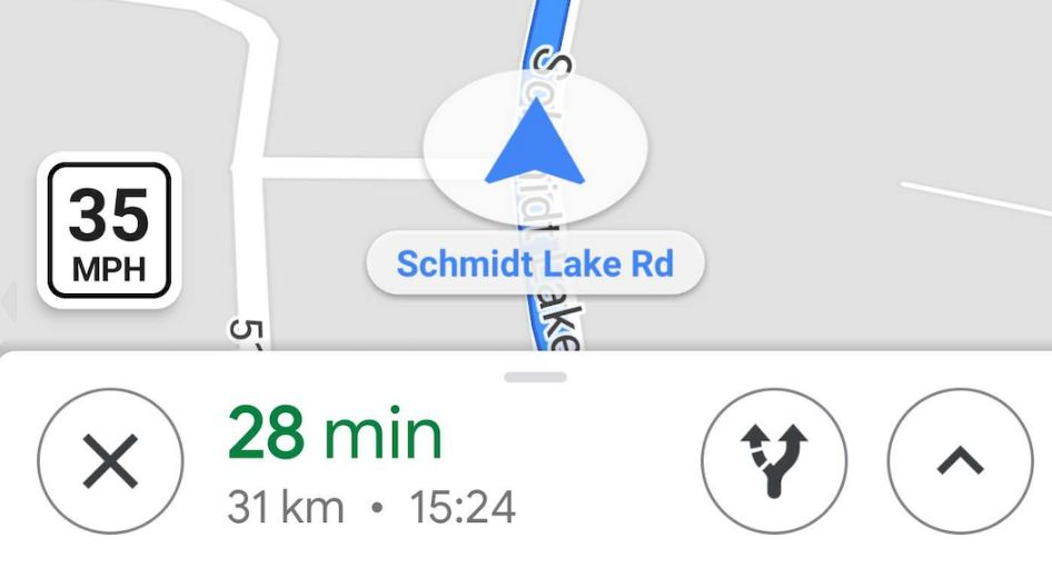 Google maps speed limit
